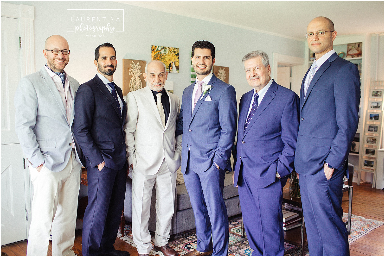 Groomsmen Portraits Bahai Wedding Briar Patch Bed and Breakfast