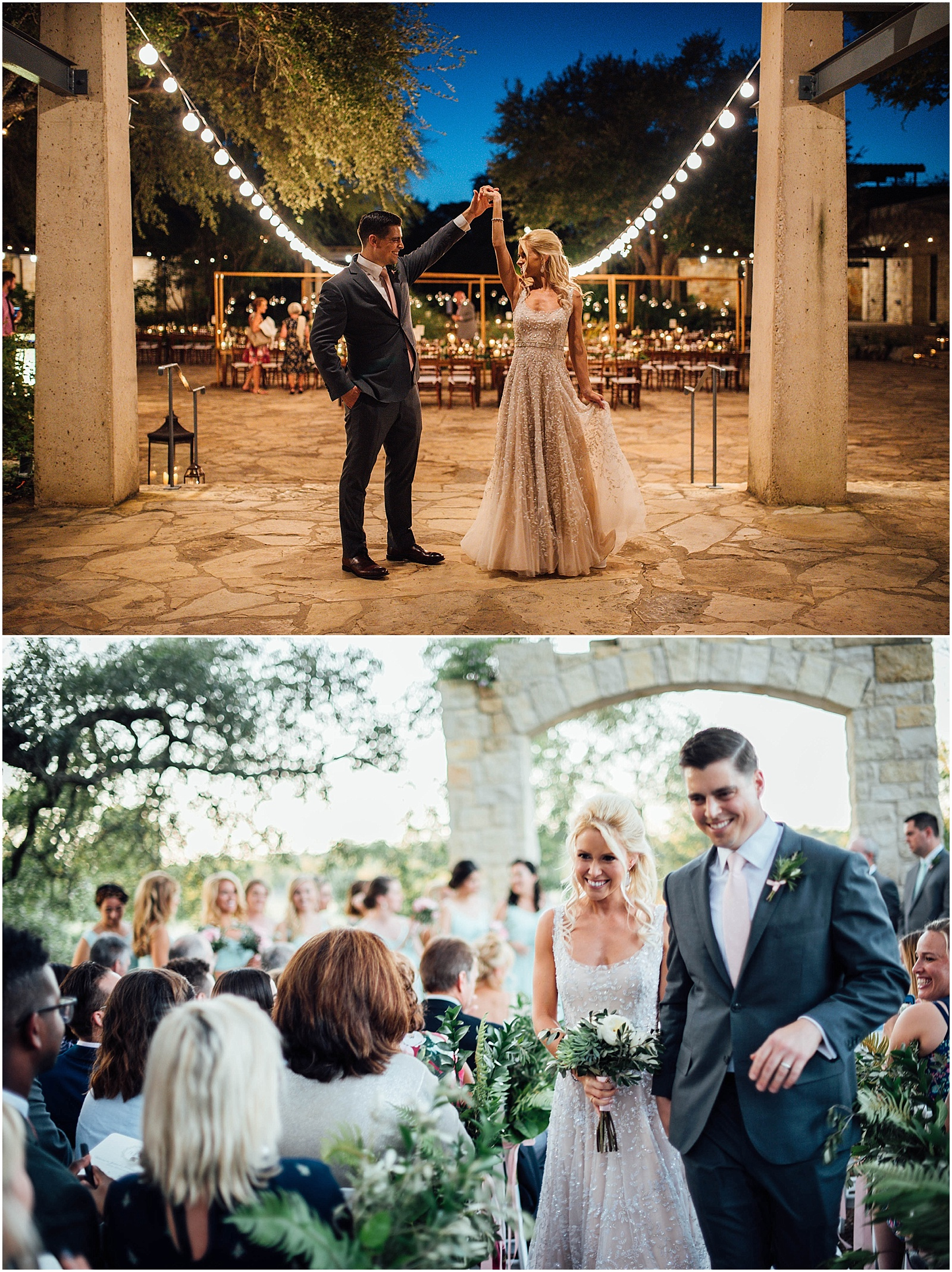 Destination Couples Portrait at Lady Bird Johnson Wildflower Center Austin Texas Wedding