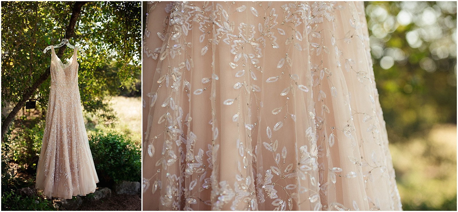 Nordstorm Blush Pink Dress Blush Pink Bridal Details at Lady Bird Johnson Wildflower Center Austin Texas Wedding