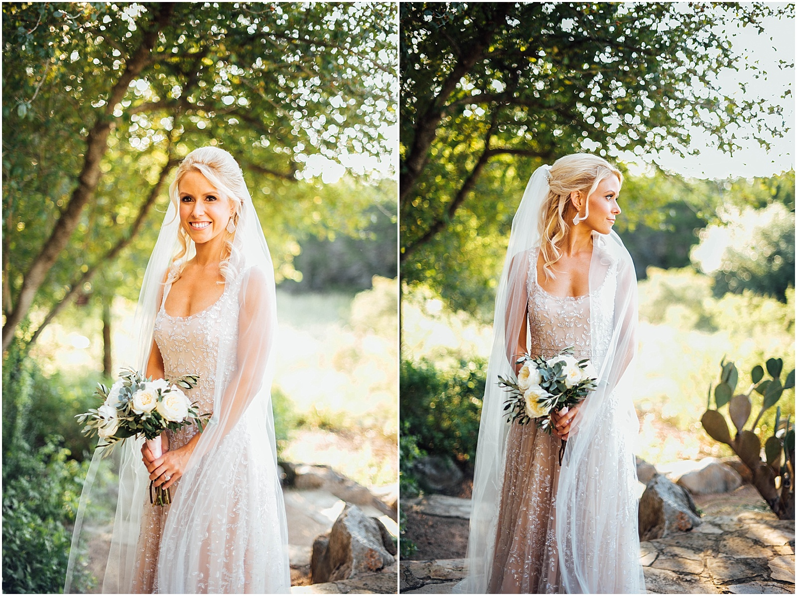 Bridal Portraits Blush Pink Bridal Details at Lady Bird Johnson Wildflower Center Austin Texas Wedding
