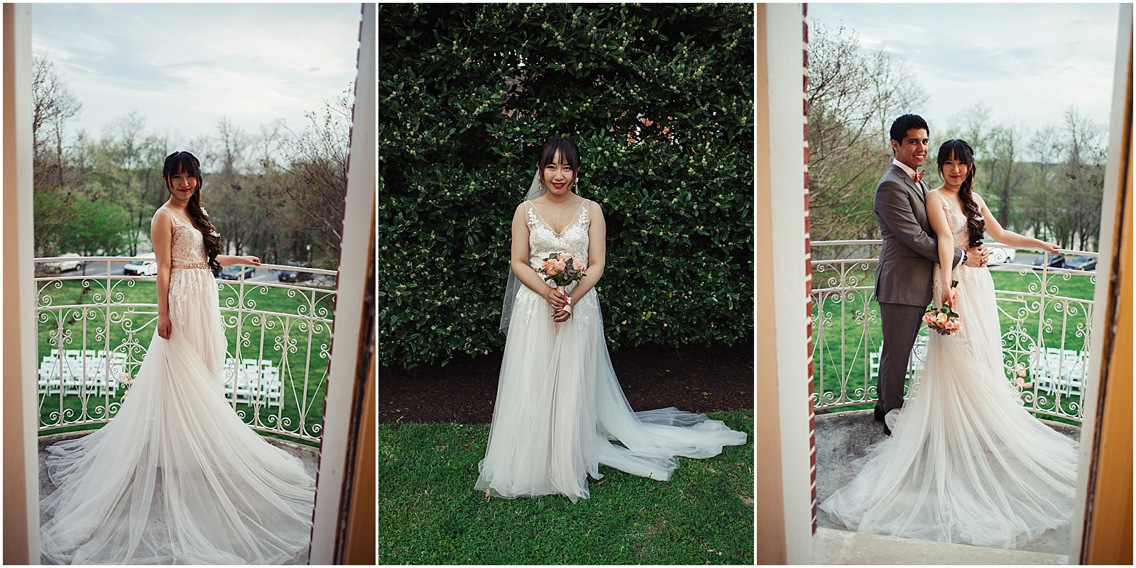anthropologie wedding dress portraits