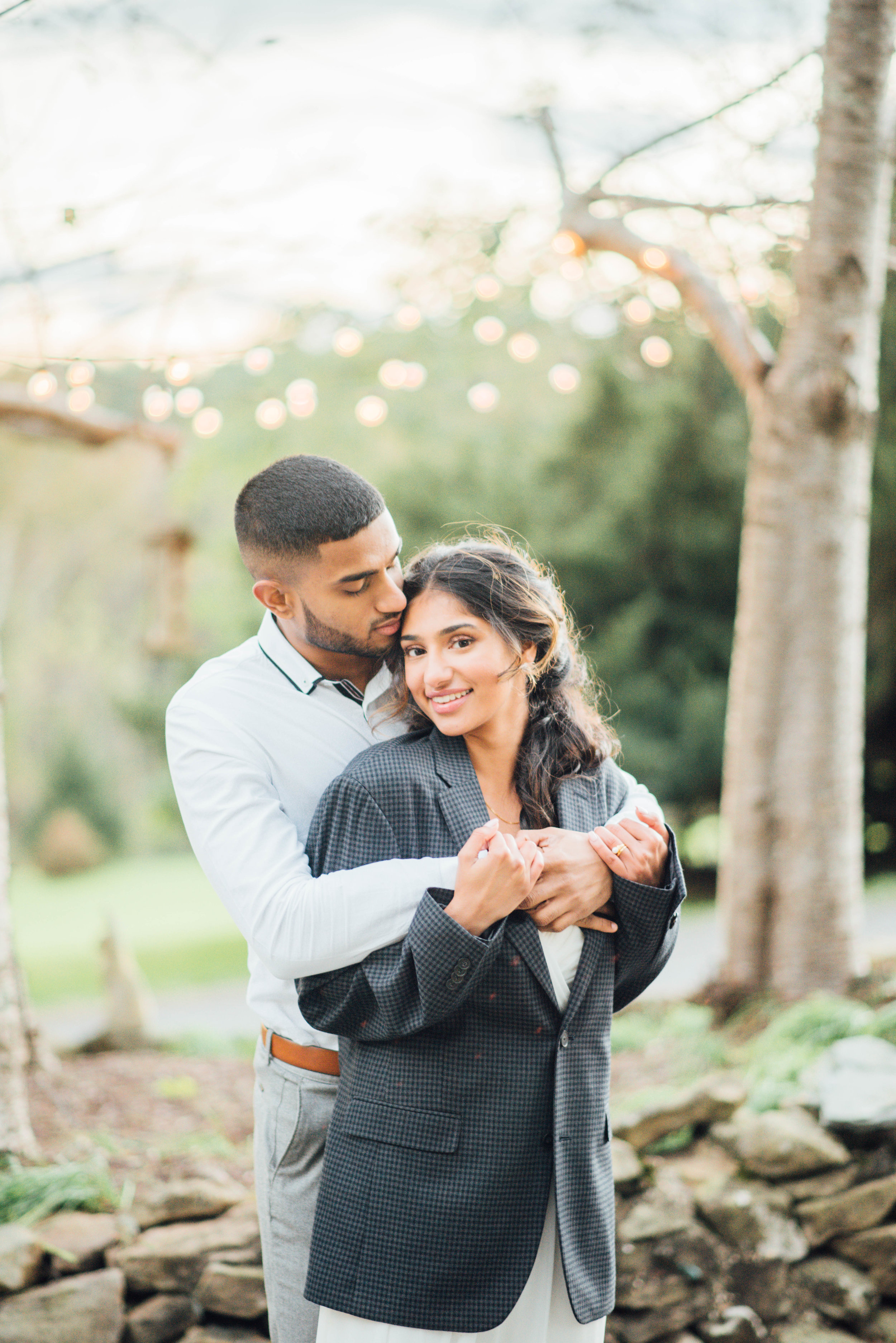 Indian bride and groom at Briar Patch Bed and Breakfast Virginia wedding