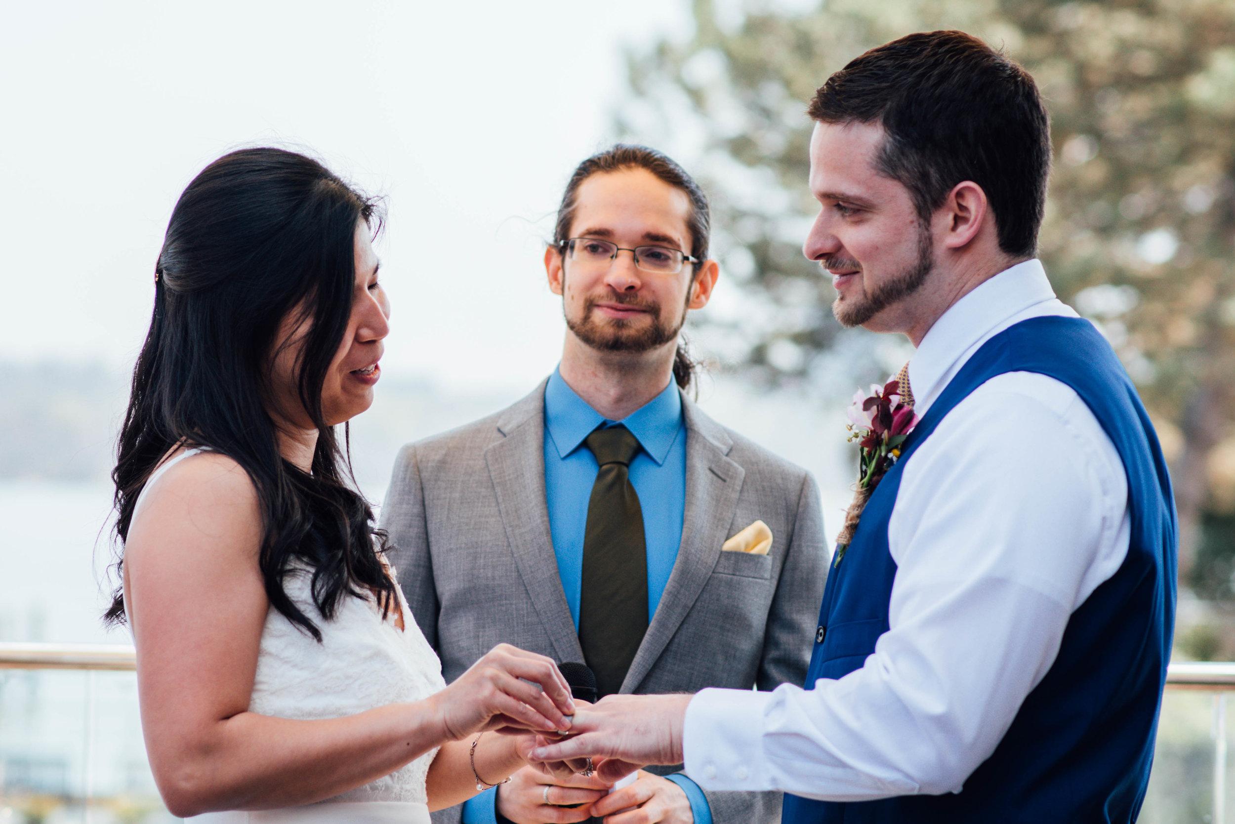 Multicultural Jewish Wedding Vows in Alexandria, VA