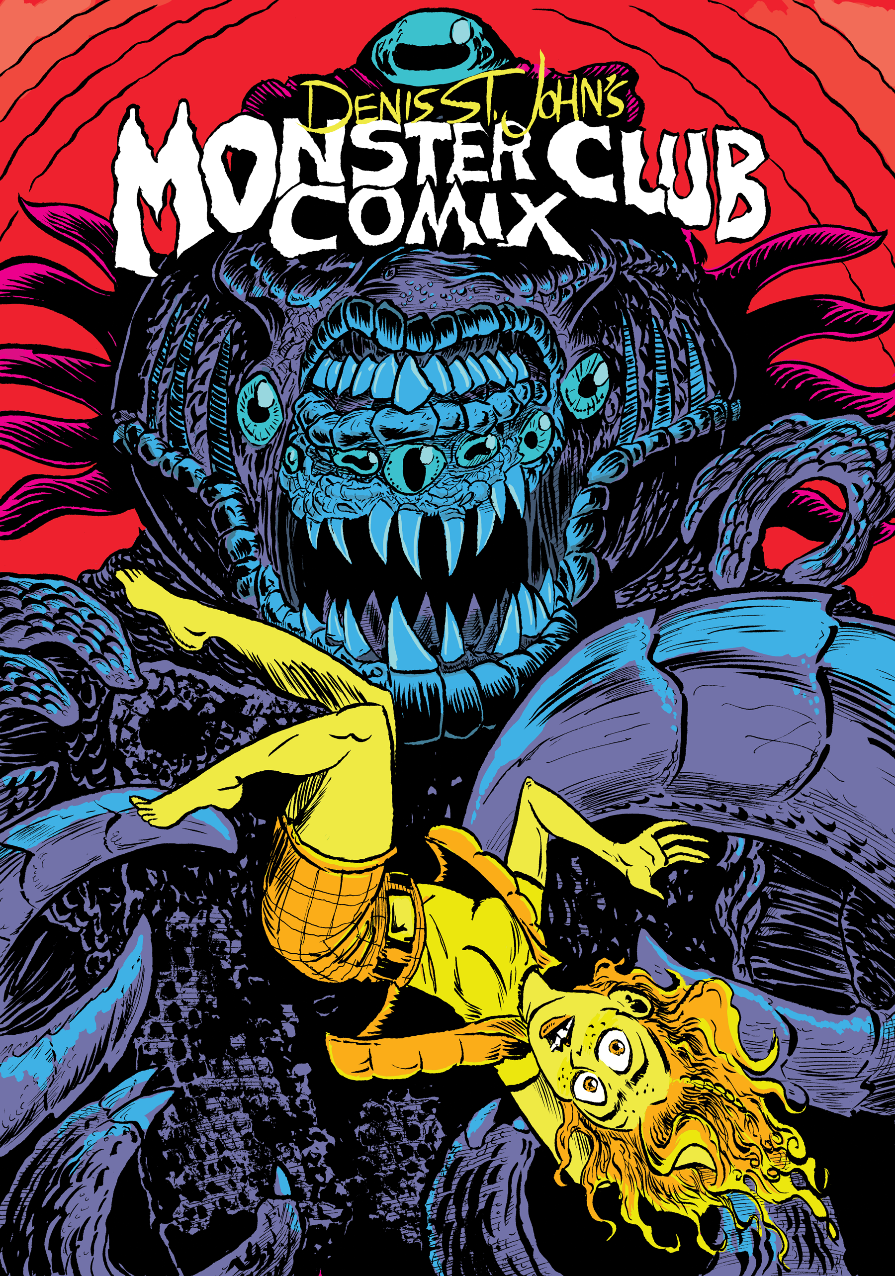 Denis St. John's Monster Club Comix! 20 pages of mysterious monster short stories! 10 dollars!