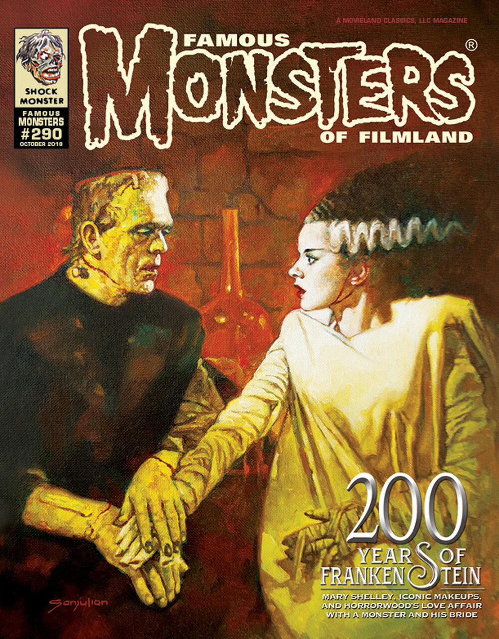 My short horror story Whisper in the Woods appears in Famous Monsters issue 290