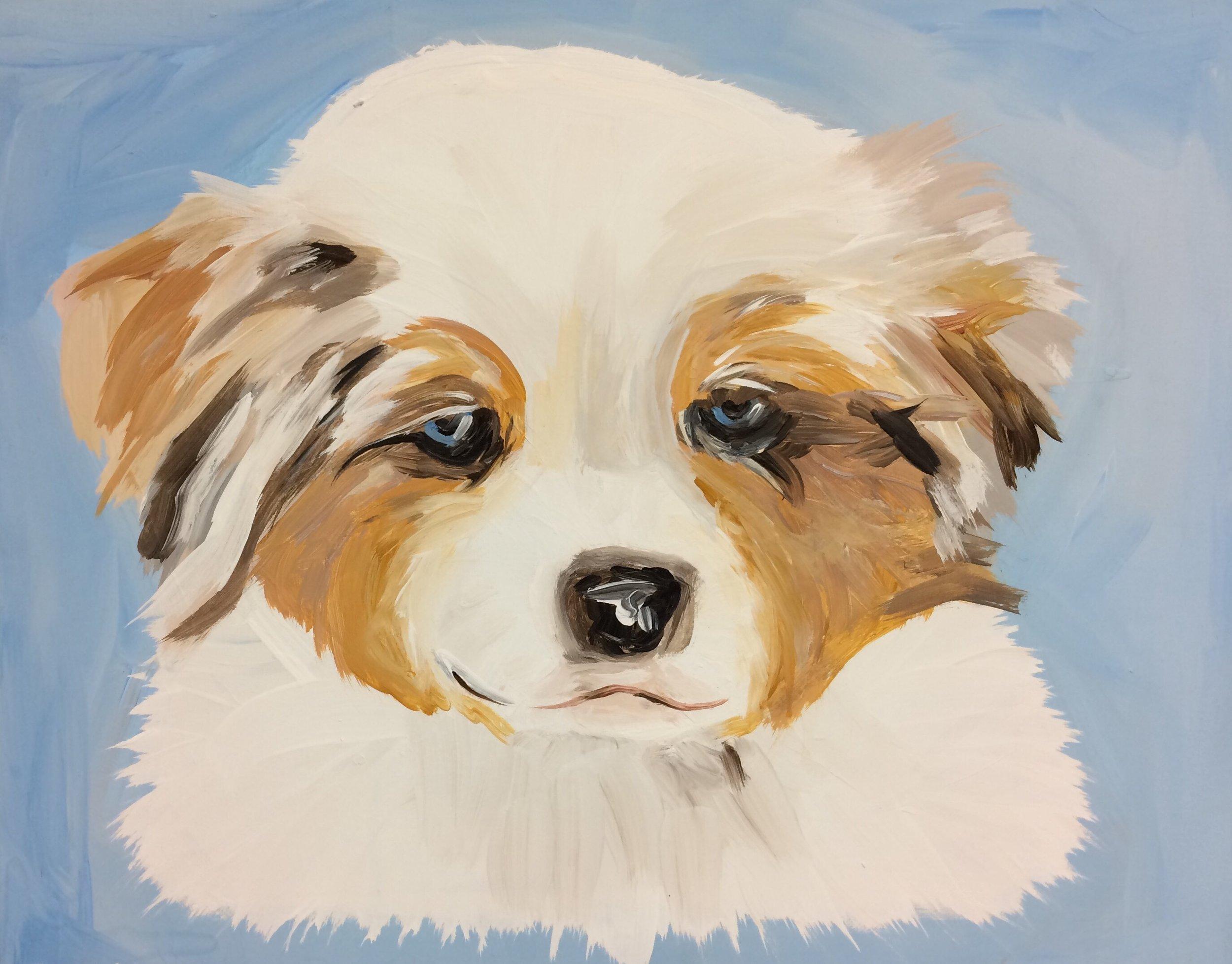Paint Your Pet Puppy