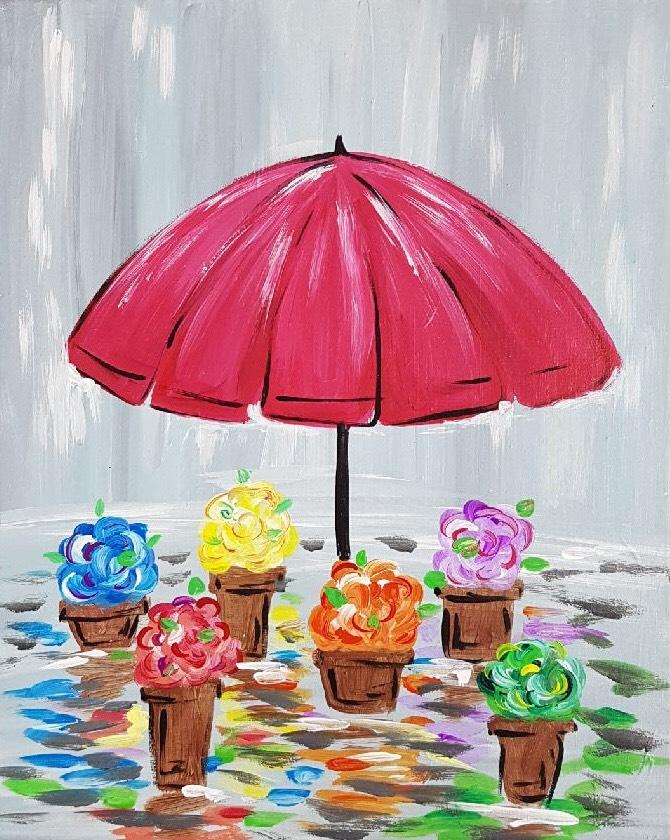 Rain & Flowers