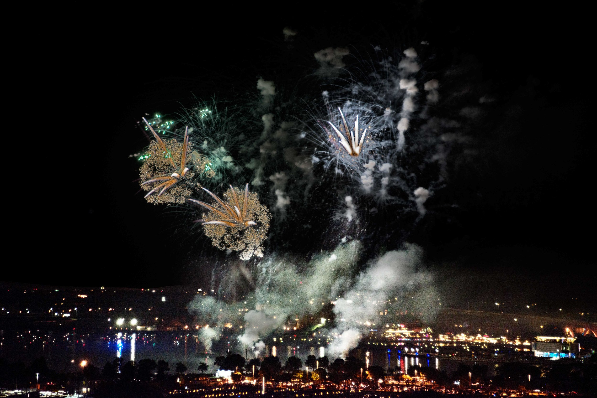 1st place . - Fireworks - Phyllis Bankier
