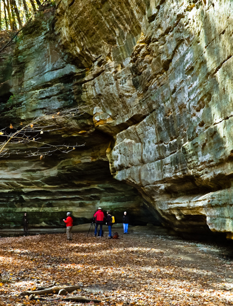 2nd place - Starved Rock Juxtaposition - Phil Waitkus