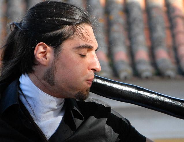 Didgeridoo Player - Phyllis Bankier