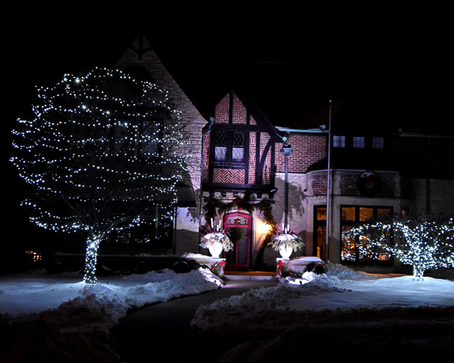 3rd place - Holiday Lights-Newton Ave. Shorewood - Peter Chow