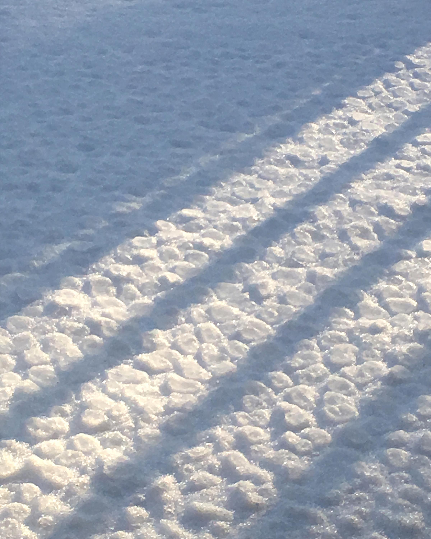 Pancake-Ice Snow - Audrey Waitkus