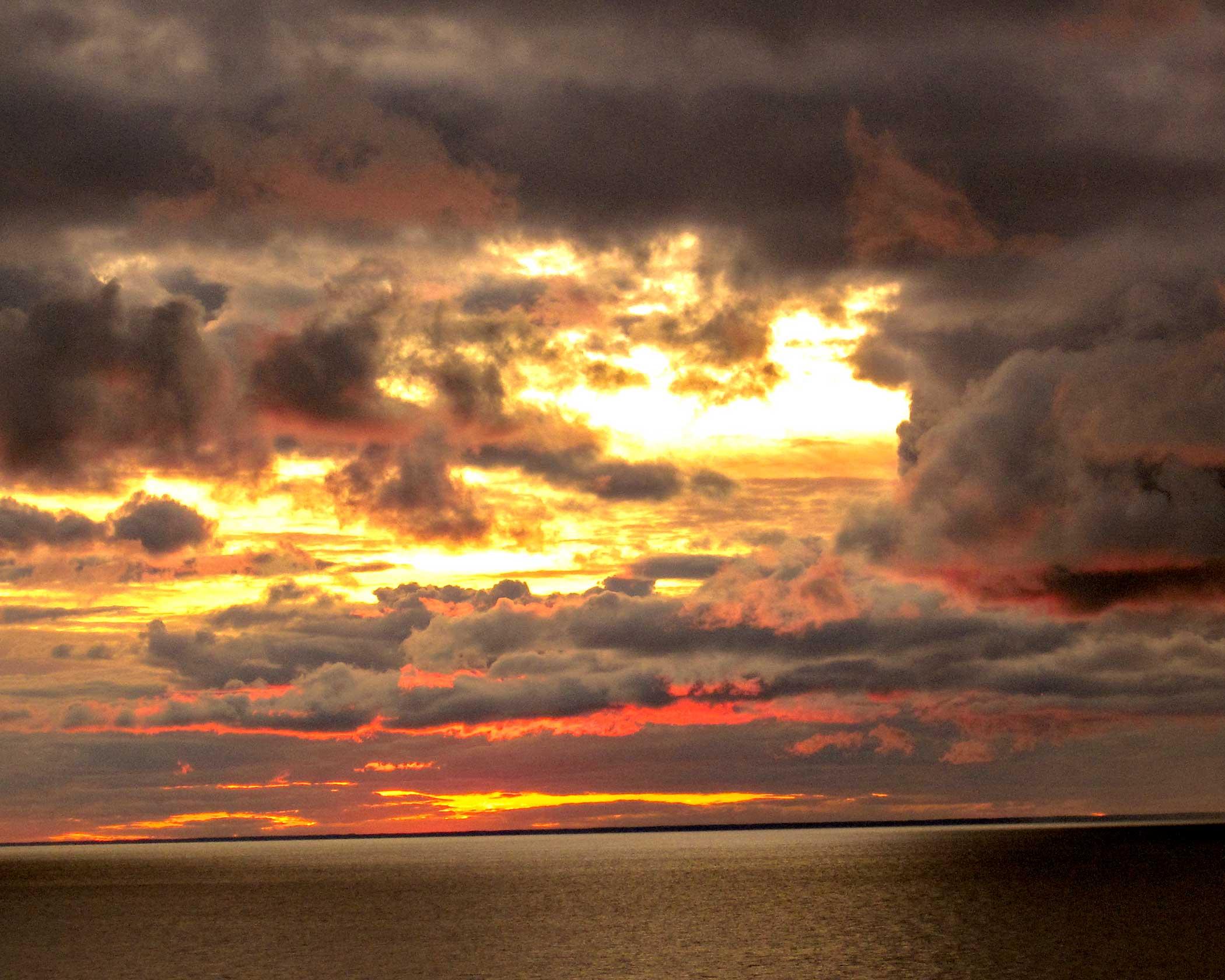 Door County Sunset - Audrey Waitkus