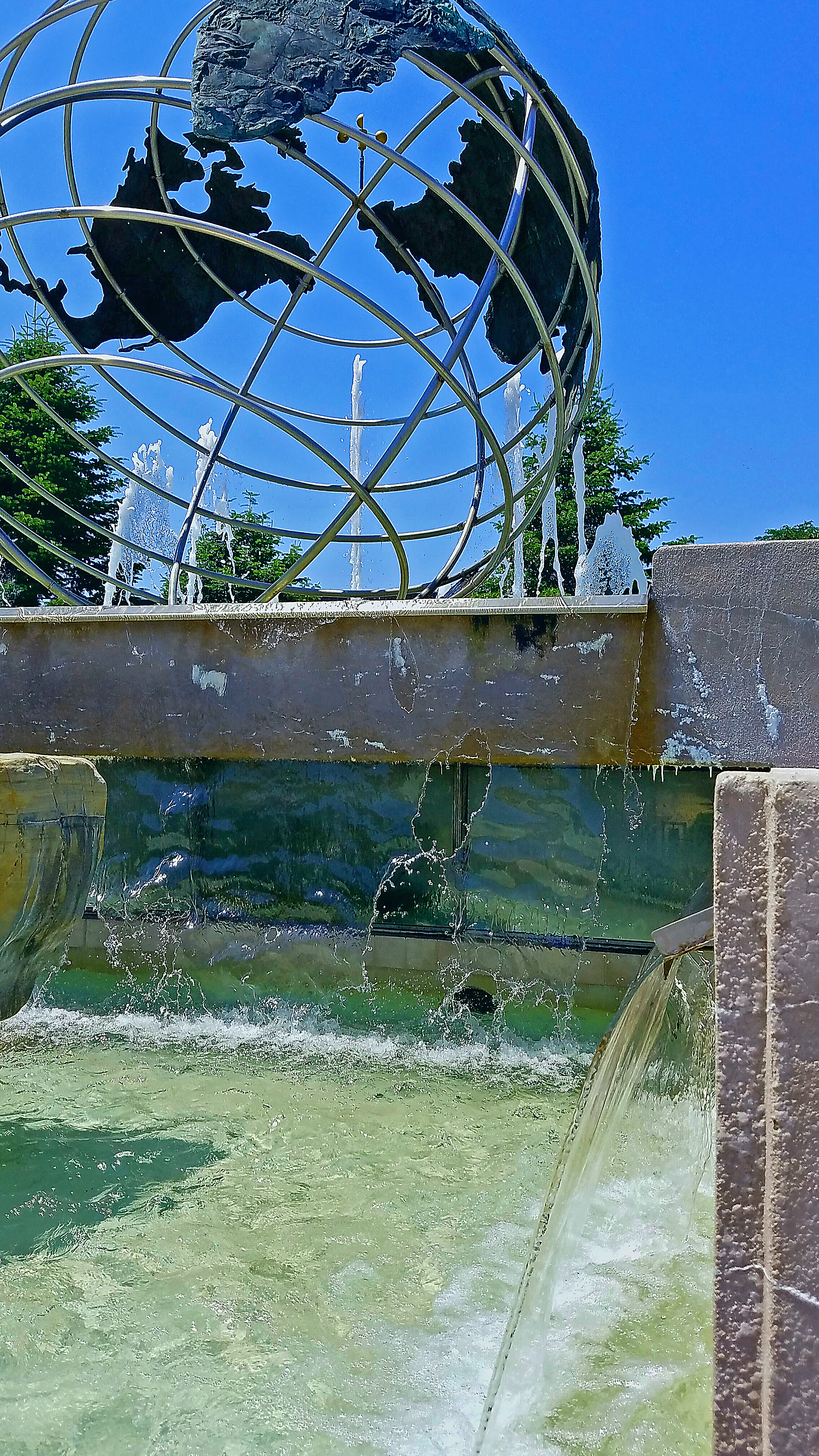 Veterans Memorial Fountain  in Kenosha WI - Carole Kincaid.jpg