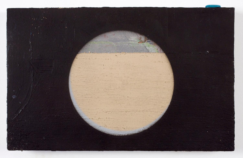 """1 . Acrylic on paint. 7"""" x 11"""". 2009."""