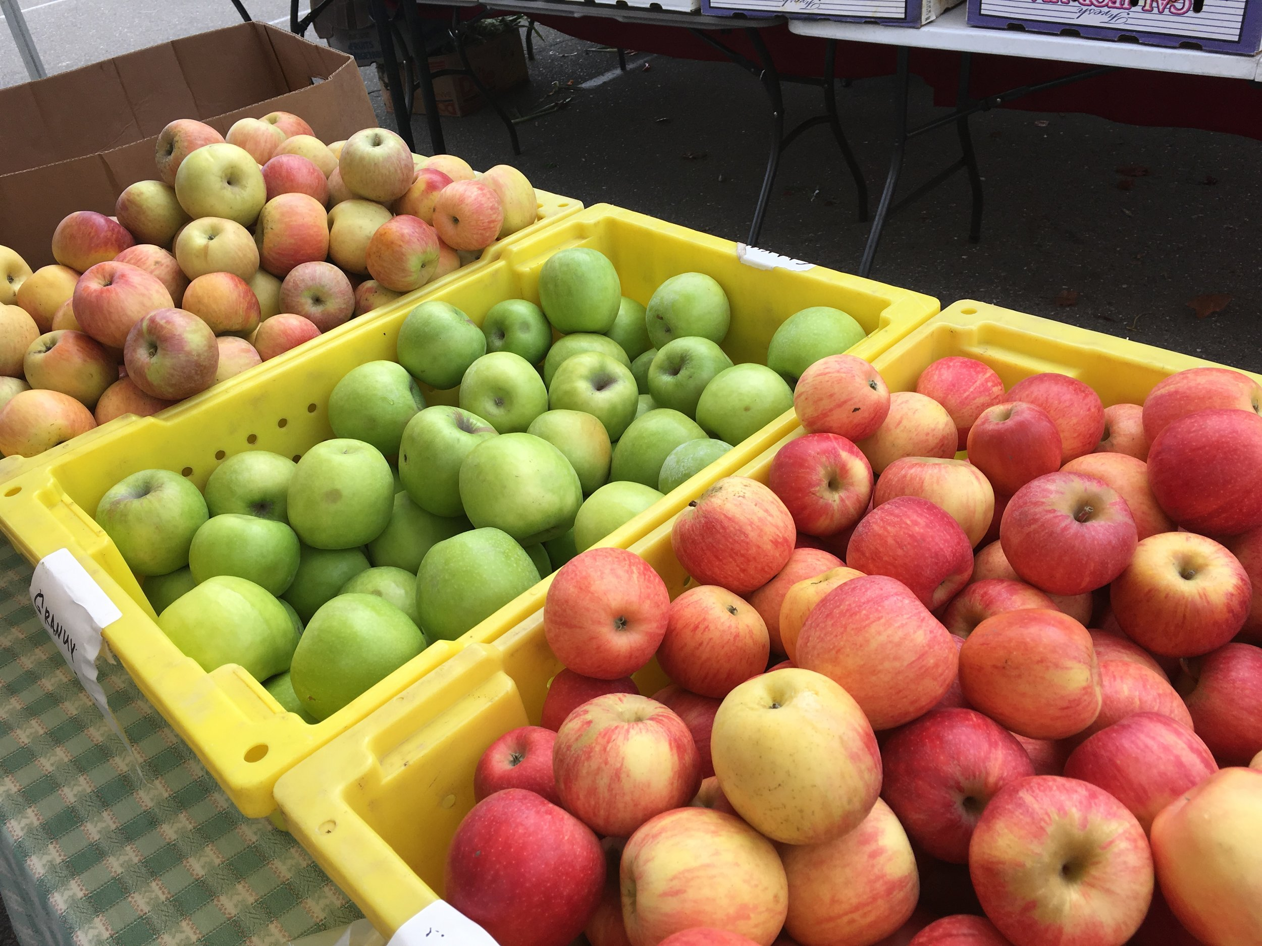 Apples, sweet, simple and healthy.