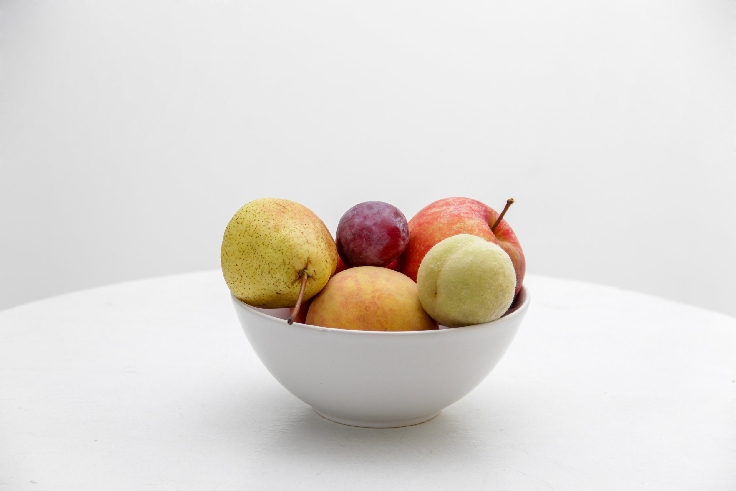 Trading your candy bowl to a fruit bowl can improve your health.
