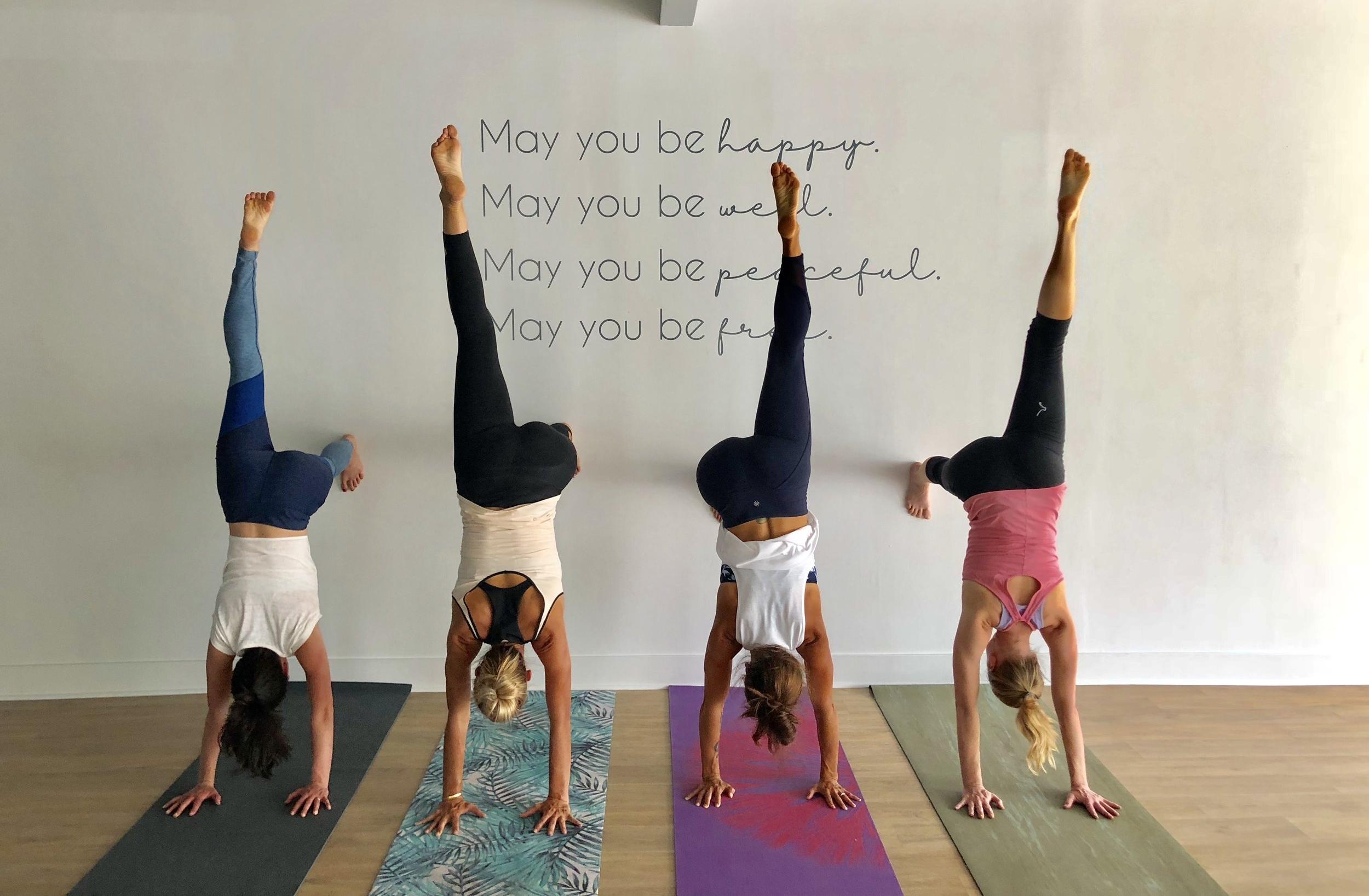 metta prayer handstands