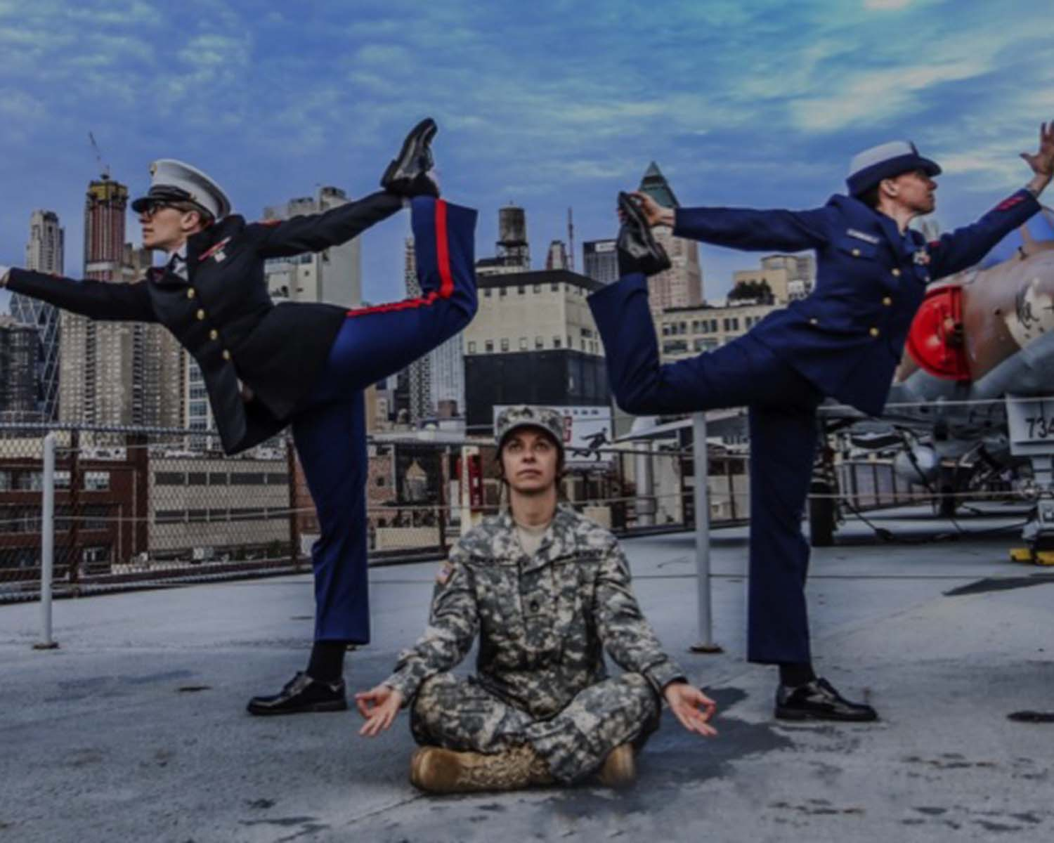 Image cred to Veteran's Yoga Project