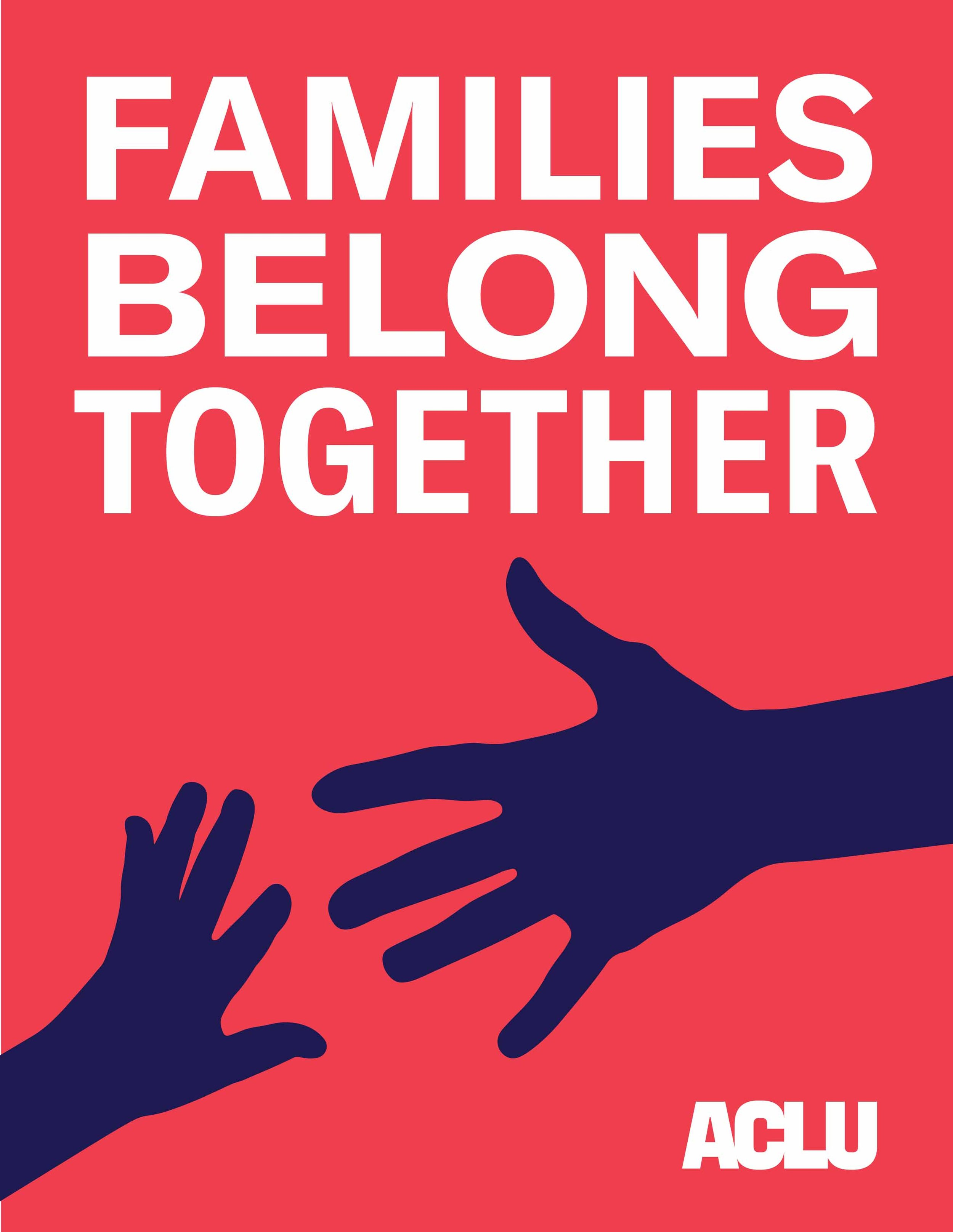 ACLU Families Belong Together, benefit, free yoga, victoria heron, corte madera