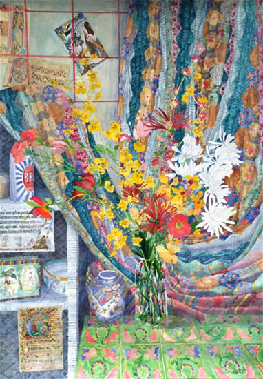 Still Life with Agnes Quilt