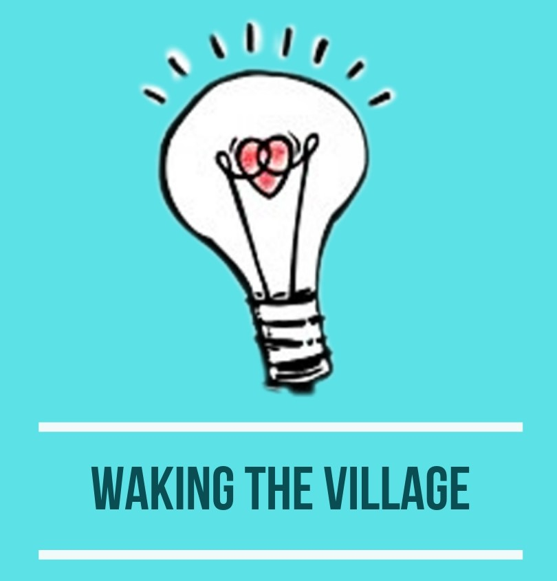 waking the village bulb logo blue.jpg
