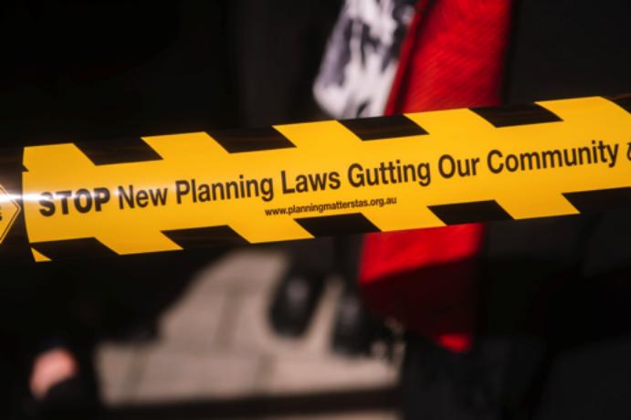 Planning Hazard Tape can be ordered at  http://www.planningmatterstas.org.au/get-creative