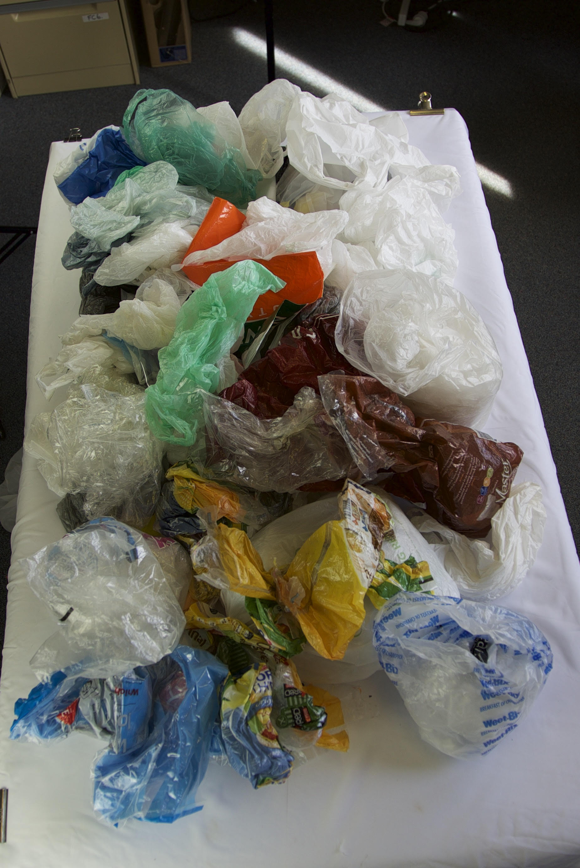 Many plastic bags and films are not recyclable anywhere and knowing which are recyclable is not easy.
