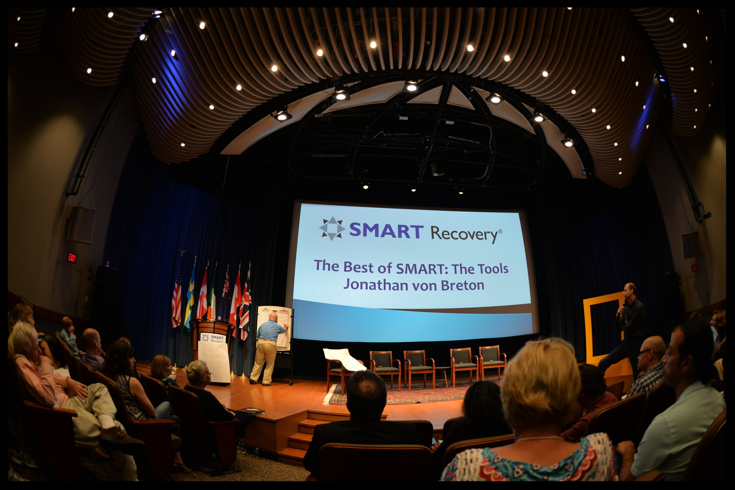 ACT Smart New York has no connection to SMART Recovery.   This photograph is simply being used as a good example of a very healthy and very large international recovery group's annual meeting, where people make good human connections and have fun together in person for 3 days each year, which is in addition to their online connections for the duration of the rest of the year, during which they have online meetings, message boards, safe monitored chat rooms, etc.   There ARE lots of things to do with your life in positive directions !  By the way, this group's website is SMARTRecovery.org.