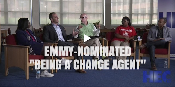 Click here to watch Emmy Nominated History In The First Person: Being A Change Agent with Drew Schwartz, Jaylen Bledsoe and HEC-TV.