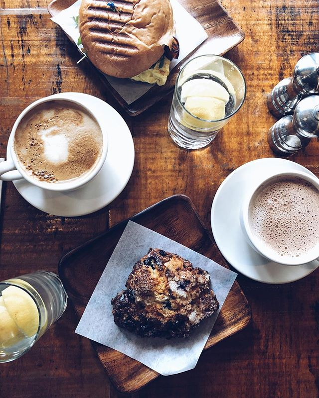I wish every morning started like this...sipping a hot drink, nibbling a blueberry scone with so much butter in it you can taste it and laughing with a good friend. Who wants to hang out next week? . . . . . . . . . . #foodie #food #breakfast #foodporn #instafood #lunch #dinner #cafe #yummy #coffee #foodgasm #personalstylist #foodlover #foodphotography #eat #healthy #yum #tasty #delicious #foodstagram #healthyfood #foodpics #foodpic #love #hungry #foods #pancakes #cook #foodies