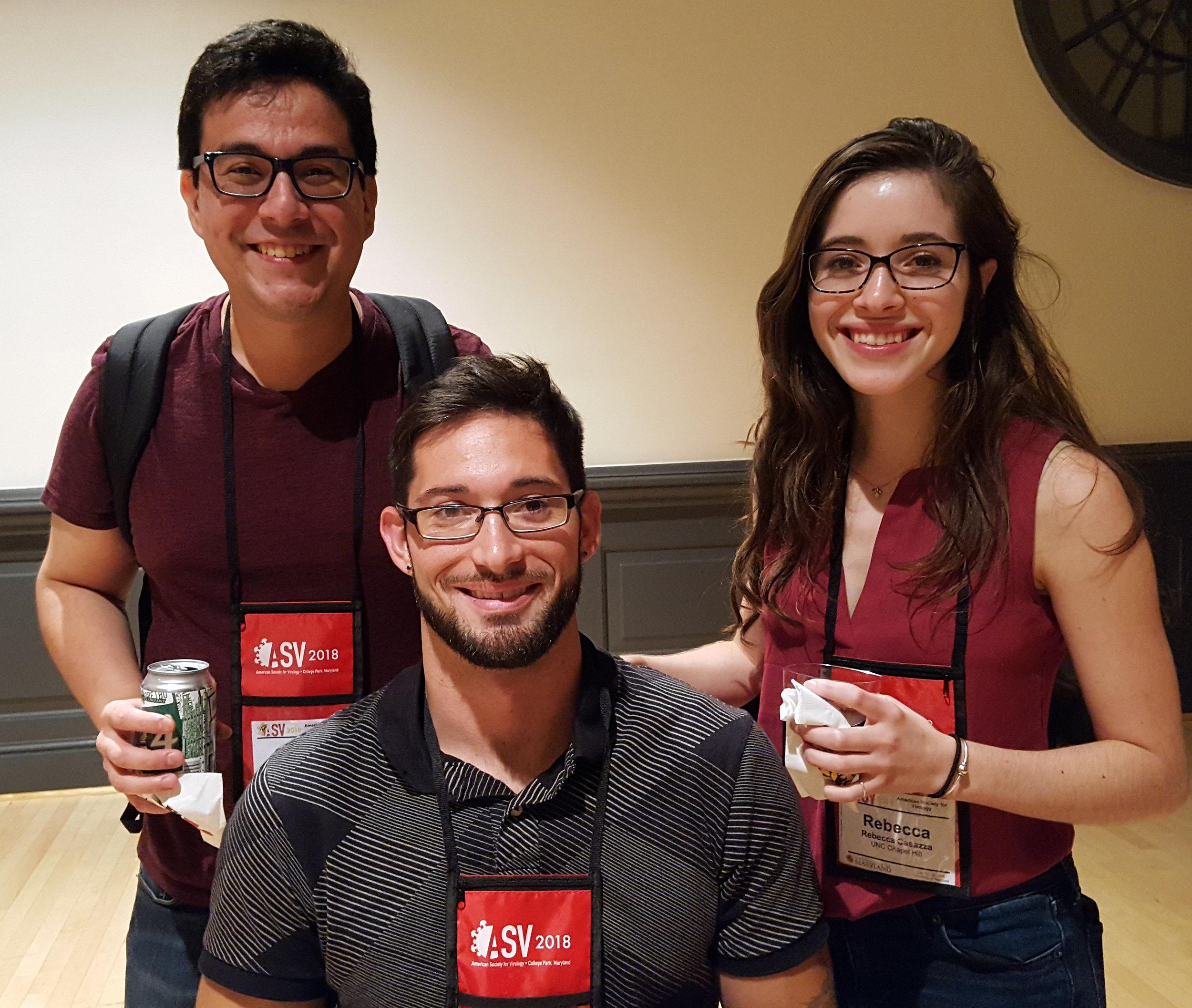 Cesar, derek, and becca - asv 2018