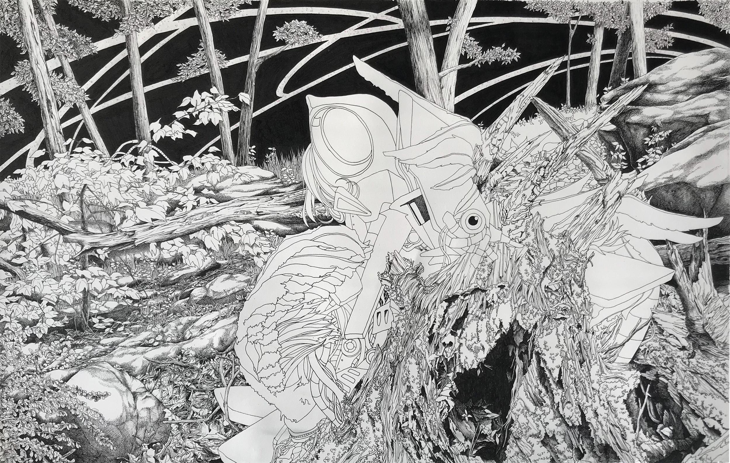 I am a bumblebee, yokai and your tree