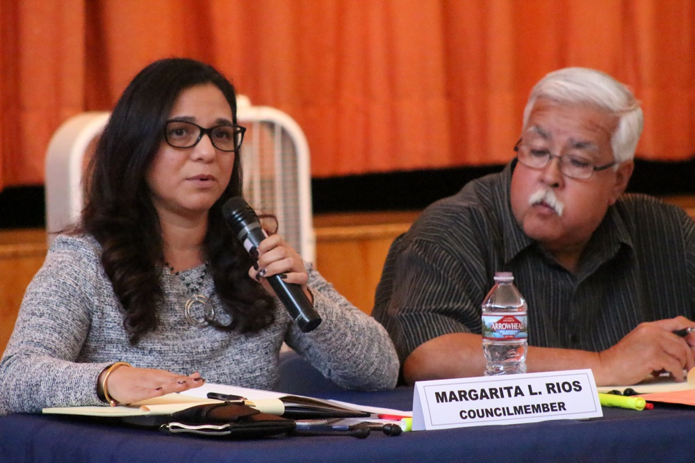 Councilwoman Margarita Rios encouraged the city to dialogue with residents to find out which businesses they want within the city.
