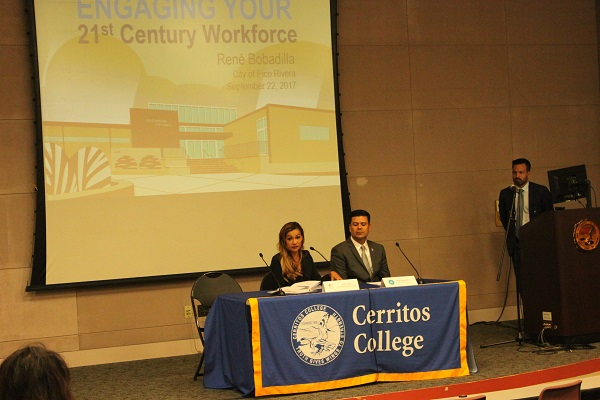 Cerritos College hosted an economic summit last week. Photo courtesy Cerritos College