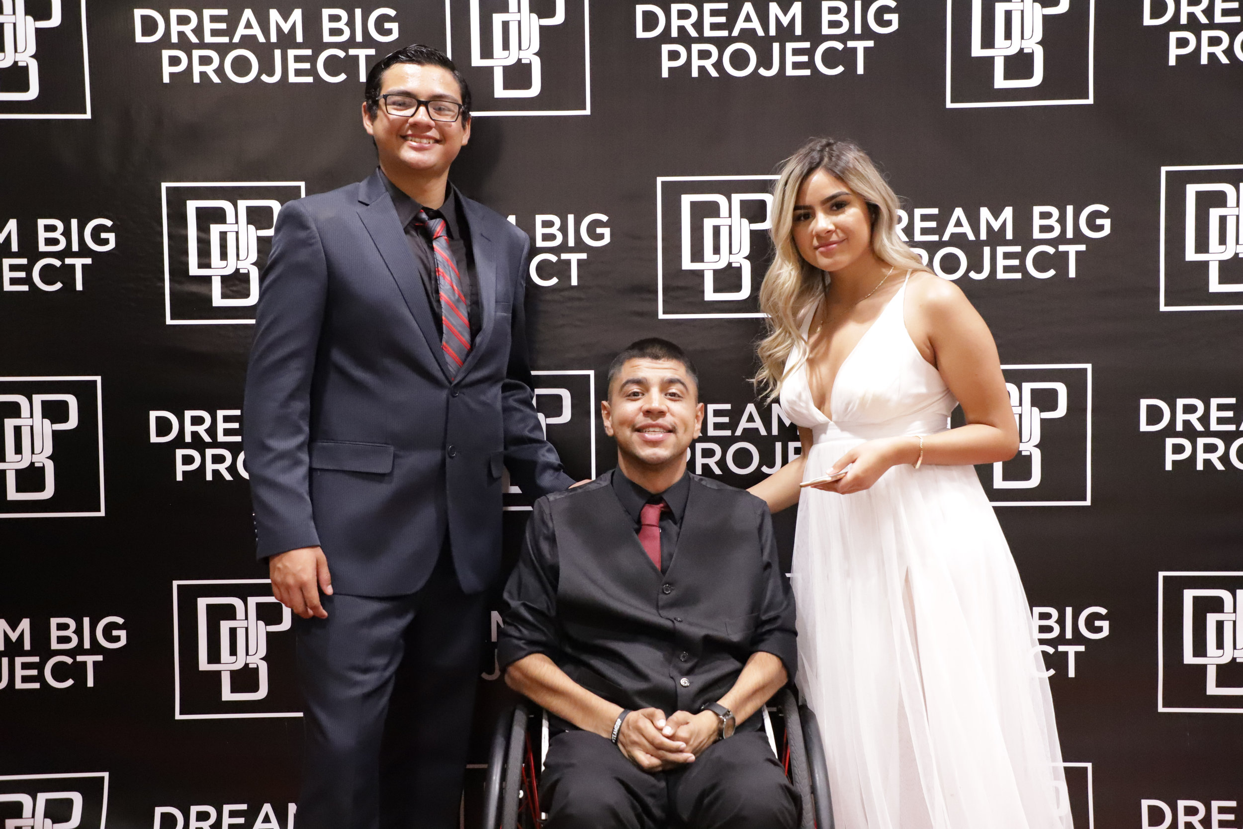Angel Myers, Miguel Rivera and Angie Anguiano.
