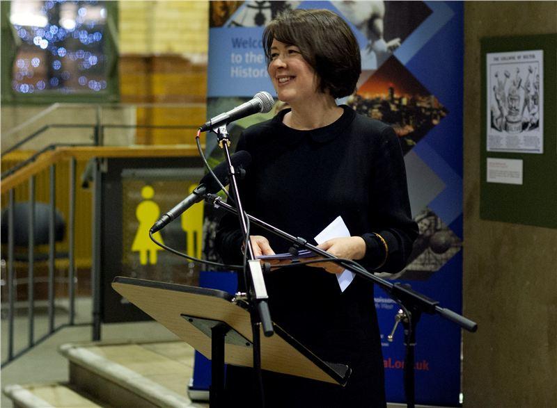 Professor Hannah Barker, University of Manchester