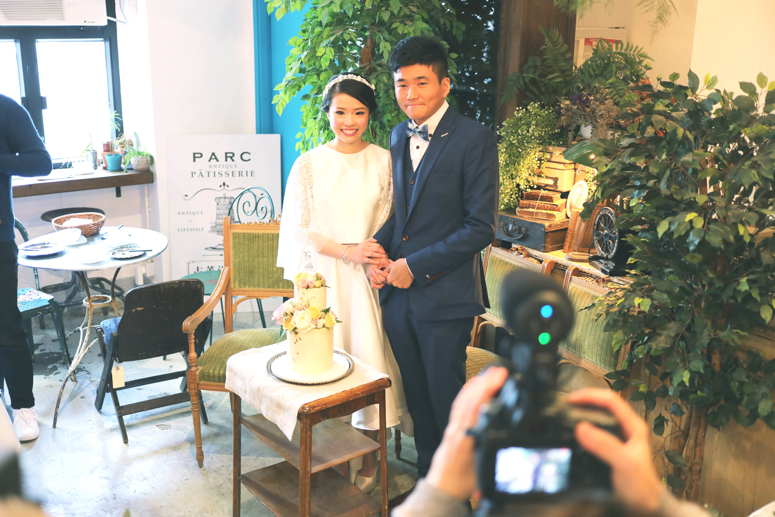 Wedding Ceremony - theme: Antique Garden