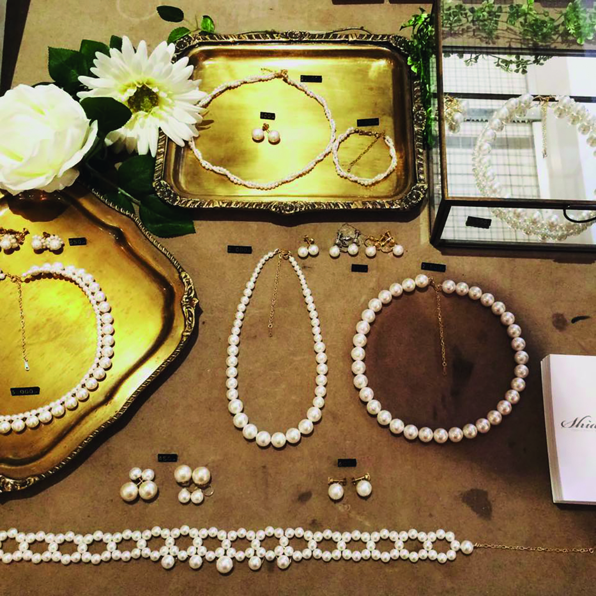 Japanese Pearl Bridal Collection - ready-to-wear & made to order | rental