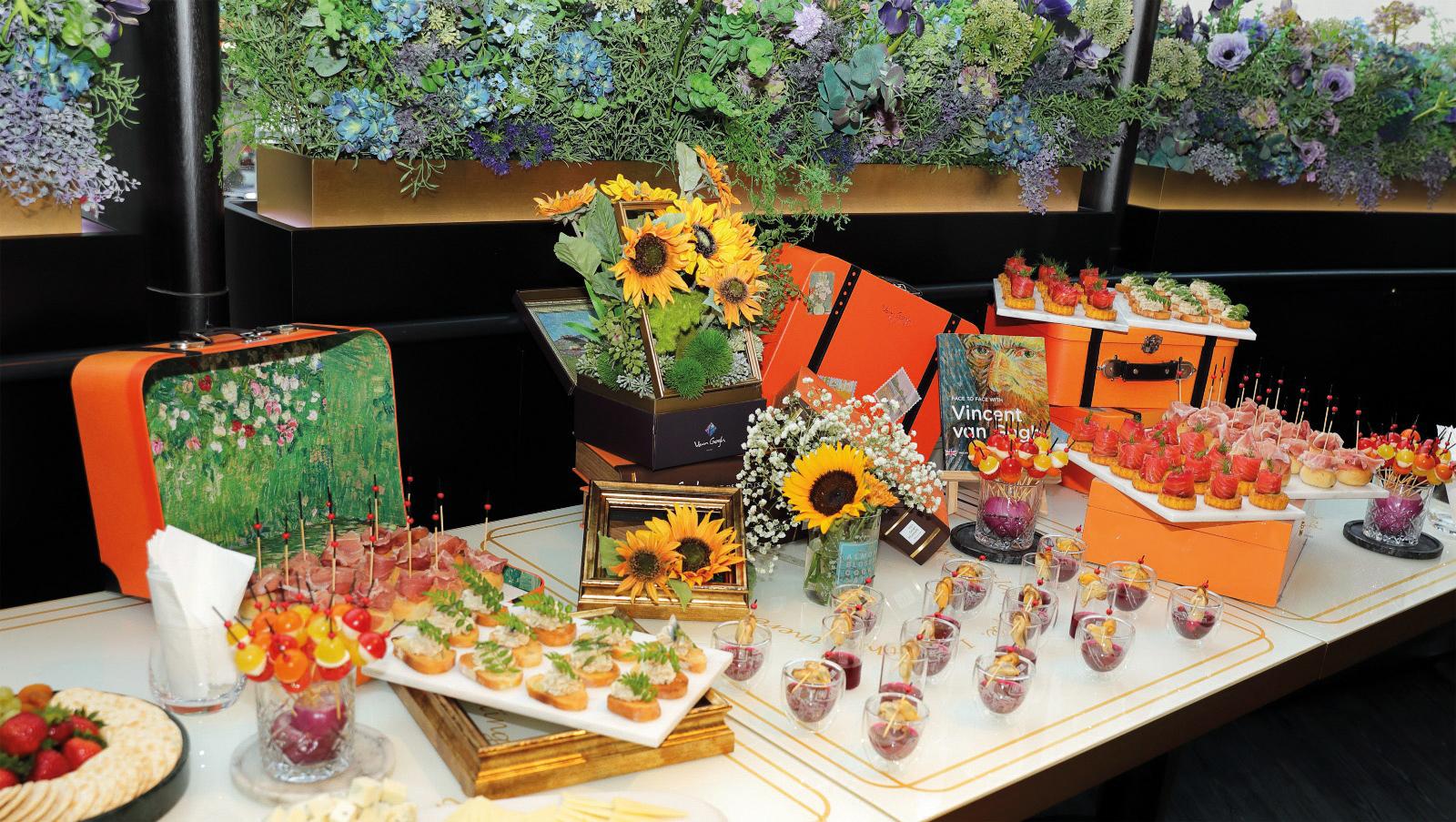 F&B menu by @Van Gogh Senses