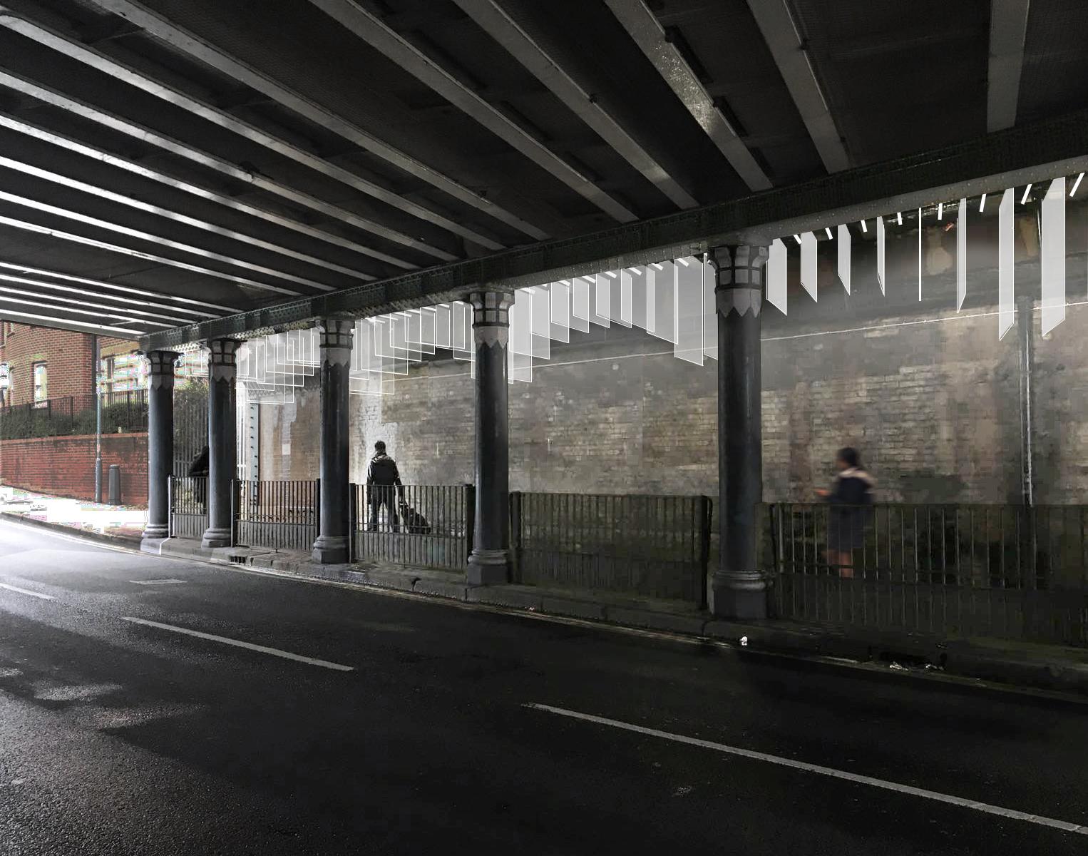 MOCT STUDIO_Portland bridge_Light Arch_view cross raod