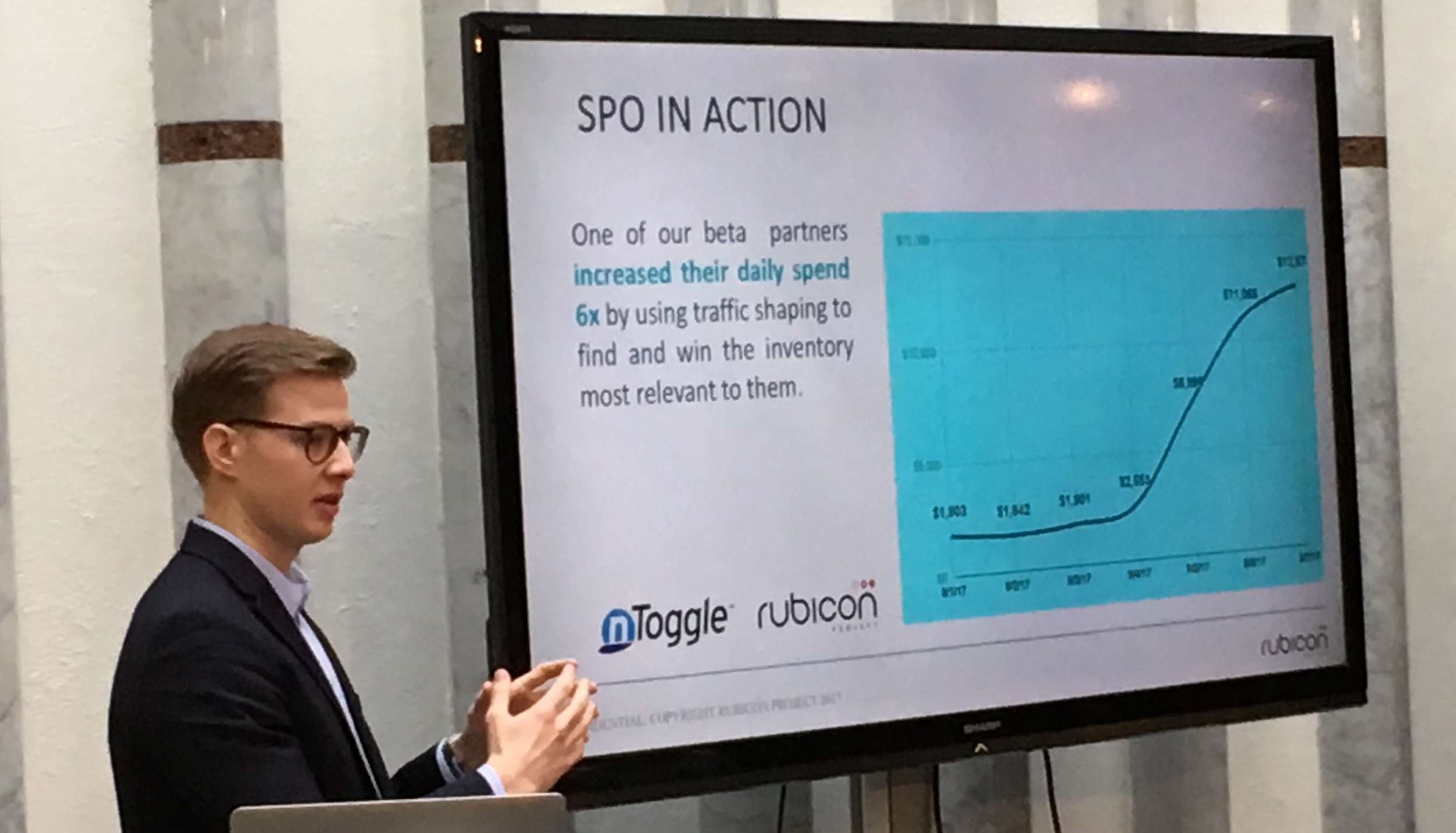 Netric Account Director Victor Hammarstrand shows the benefits of SPO