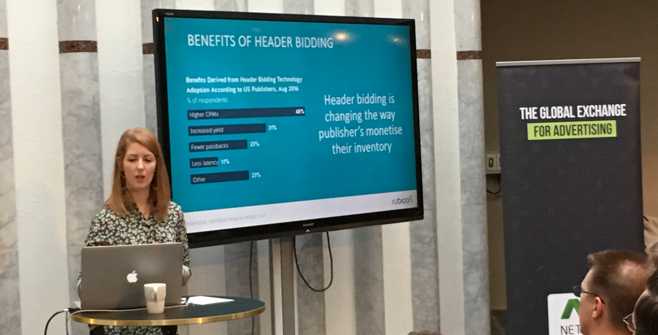 Rubicon's Director of Mobile & Video EMEA Flora Evans covers the benefits of header bidding