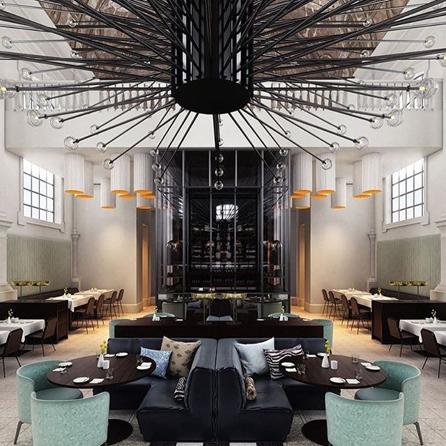 D E S I G N . I N S P O⠀ Gorgeous luxury restaurant fitout! Loving the intricate lightings in this room, as it makes the area very luxurious with a modern touch! ⠀ ⠀ Restaurant: 'The Jane' in Antwerp⠀ ⠀ Images from Pinterest ⠀ ⠀ #imperioway #architecture #Global #motivation  #perthsmallbusiness #dream #travel #inspiration #like4like #travelphotography #love #instadaily #pictureoftheday #instagood #wanderlust #worldwide #l4l #design #perthentrepreneur #interiordesigner #photooftheday #classic  #minimalist #amazing #instago #fitouts #love #bestoftheday #instahub #creative