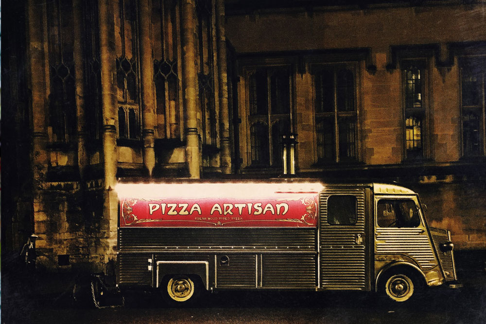 Pizza Artisan. Food Snapping. 3rd place Pink Lady Food Photographer of the Year 2016