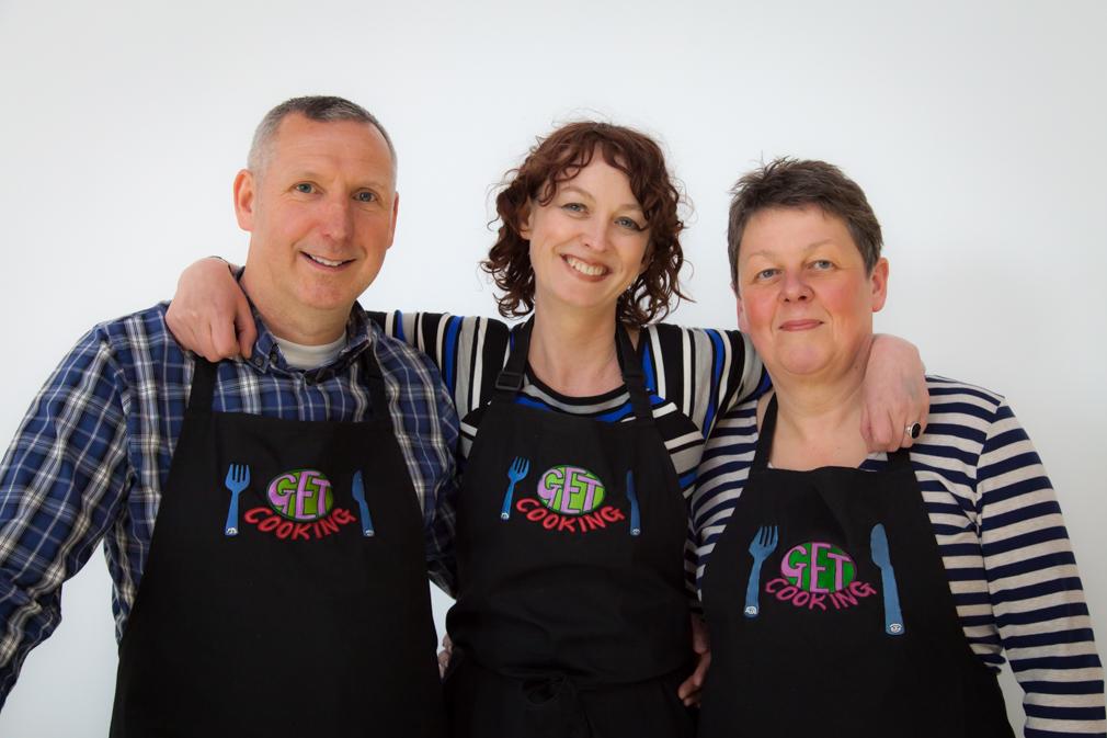 Emily Carey (centre) Get Cooking, Leeds