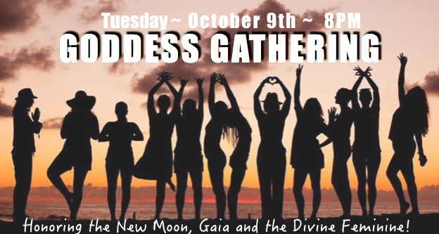 New MoonGoddess Gathering - Cacao, Conscious Relationships, and Acoustic PerformanceBoca Del Mar, October 9 - 8PM