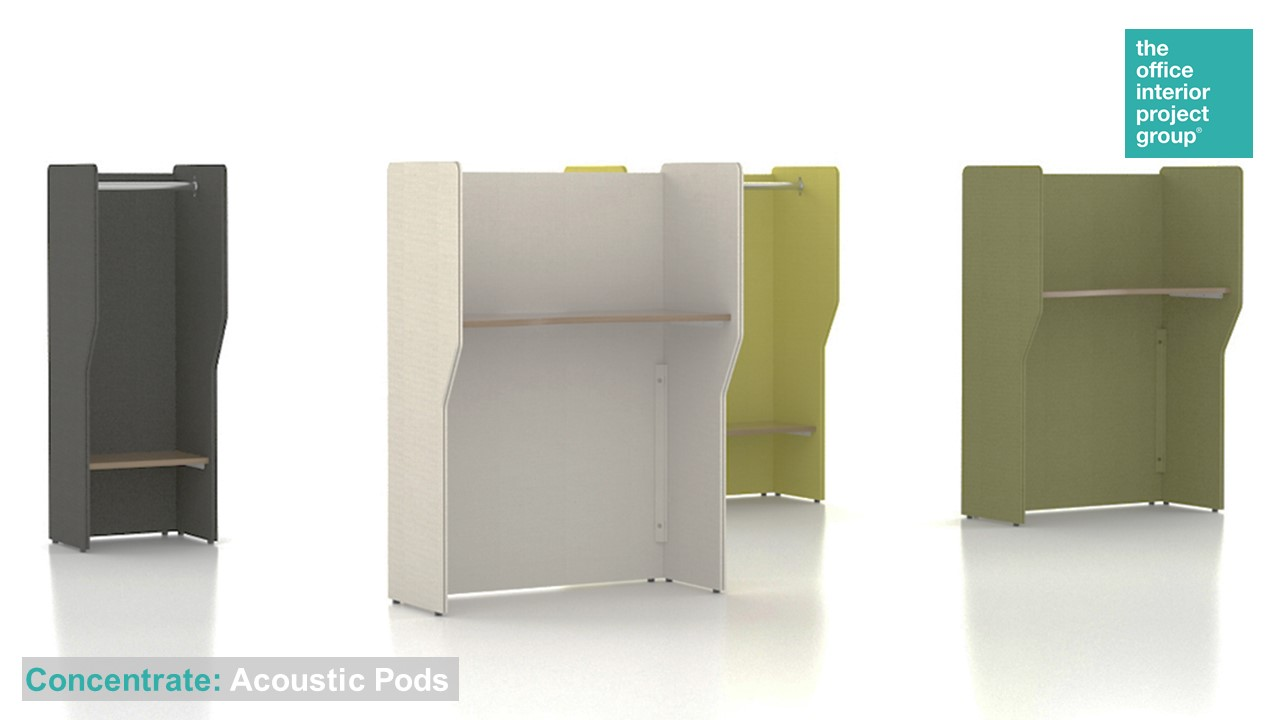 The Office Interior Project Group® Ad - Concentrate - Acoustic Pods.jpg