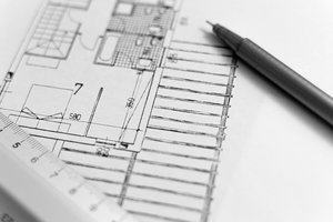 The Office Interior Project Group Design Image BW.png