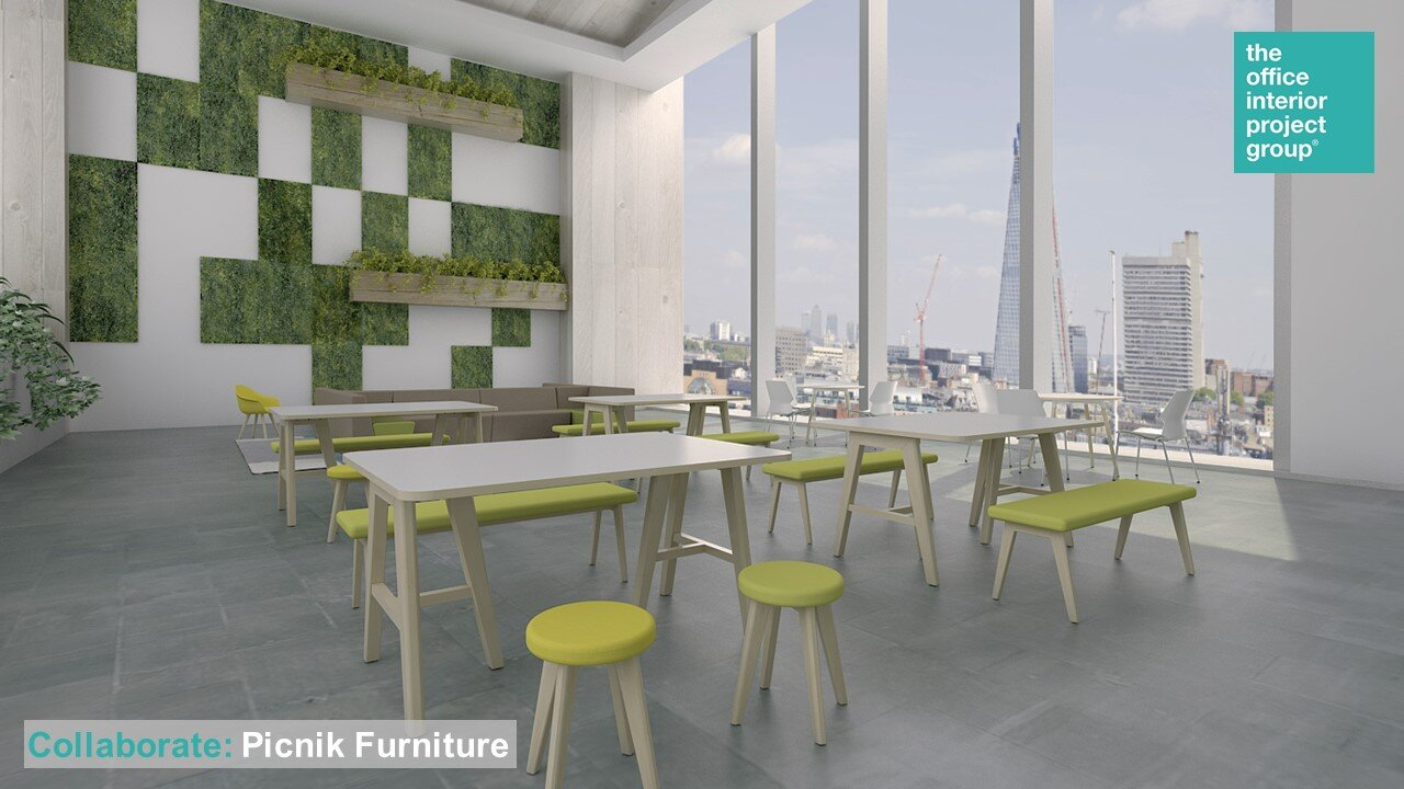 London South East Office Interior Fit Out Refurbishment Furniture Design Build Furnish The Office Interior Project Group